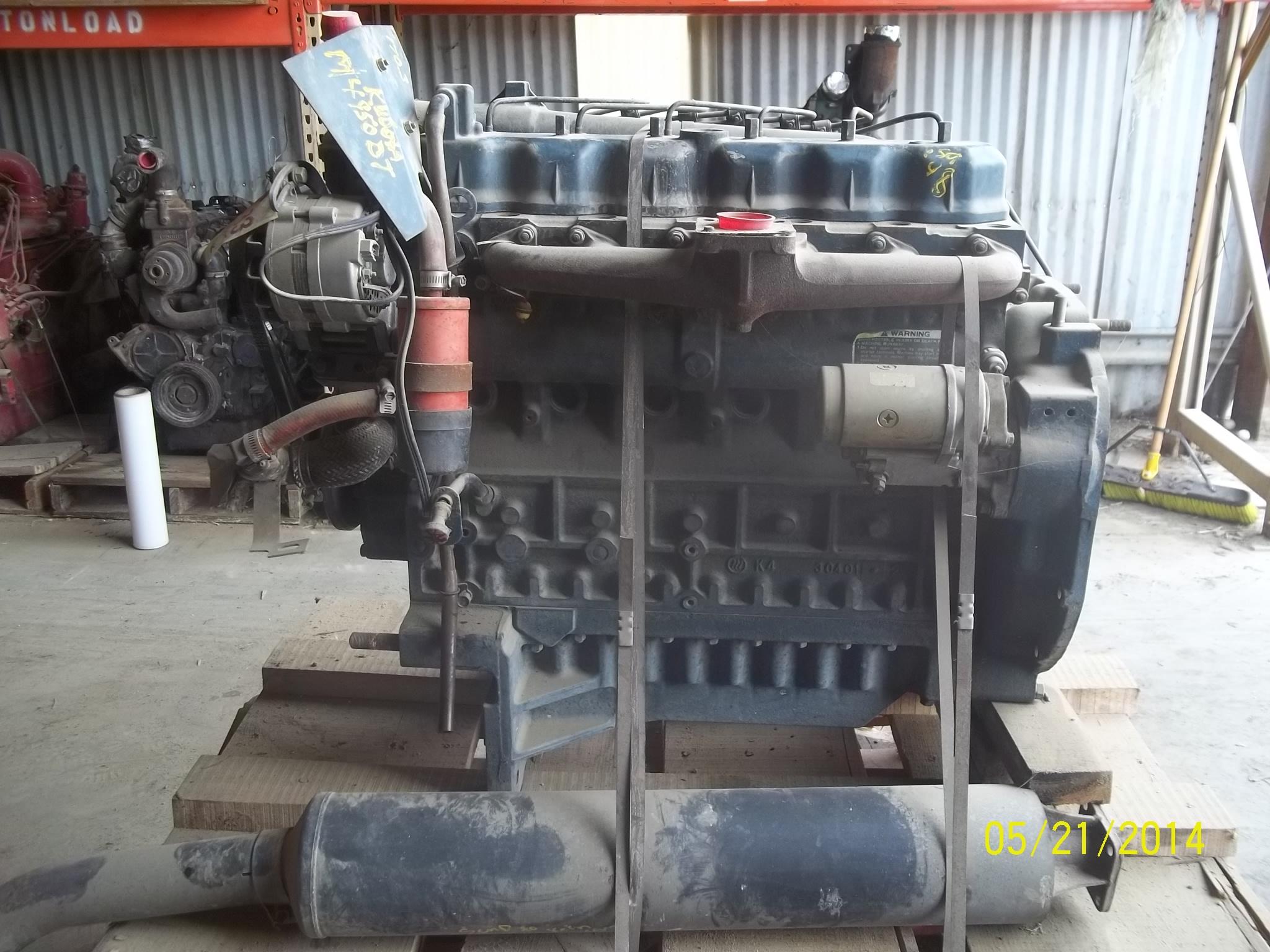 Kubota® 170 3 Engine Used – Ag Expo Magazine Parts